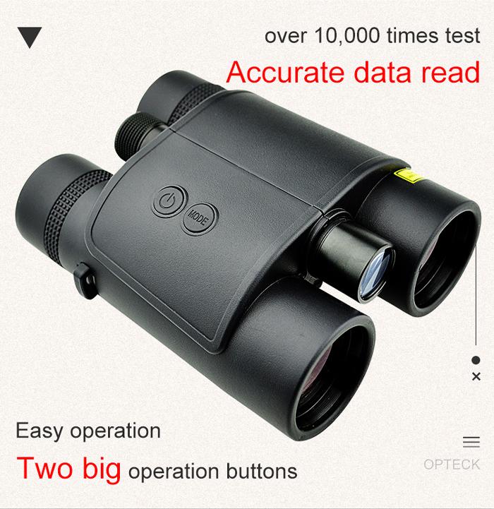 10x42 Binoculars With Laser Range Finder Laser Rangefinder